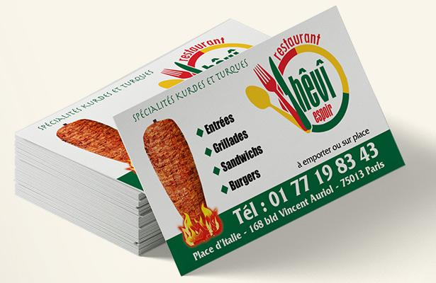 Cartes De Visite Imprimeur Postalios